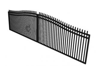 arch sliding gate
