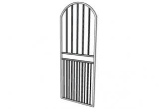 arch swing gate