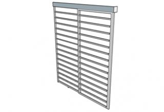 sliding door gate